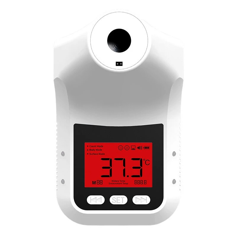 Yatay K3 Pro Infrared Thermometer Non-Contact Wall-Mounted Fixed Digital Electronic Thermometer Forehead Wall-Mounted Type 003