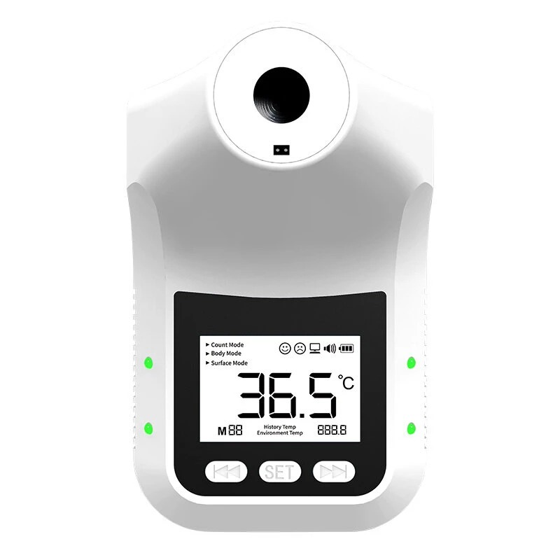 Yatay K3 Pro Infrared Thermometer Non-Contact Wall-Mounted Fixed Digital Electronic Thermometer Forehead Wall-Mounted Type 004
