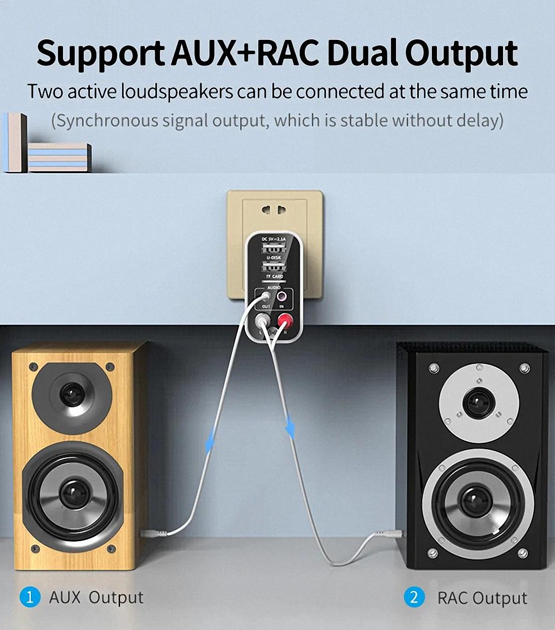 Smart bluetooth Adapter K16 Wireless Audio Receiver Transmitter Firefly (15)