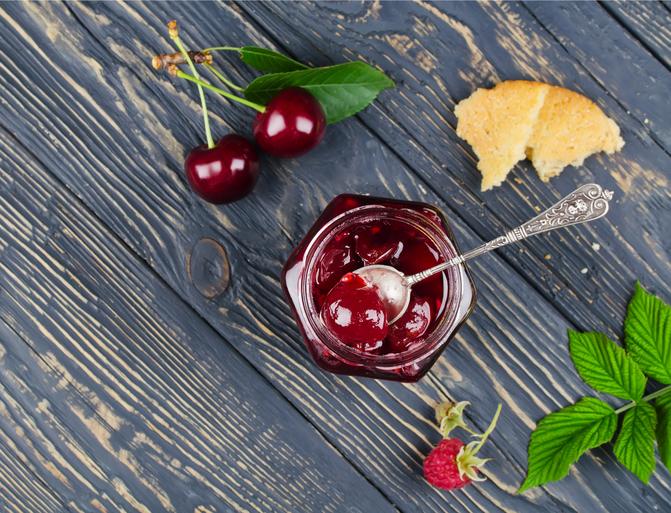 Meyve / Vişneli Yaz Püresi
