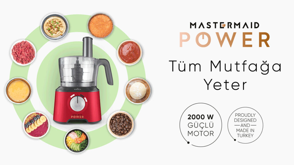 Mastermaid Power: Tüm Mutfağa Yeter!