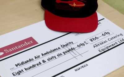 Midlands Air Ambulance Charity Donations 2019