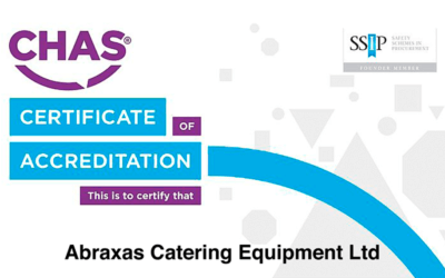 Abraxas are Constructionline Gold Members and CHAS Certified!