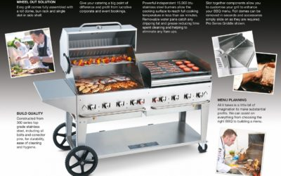 Abraxas Introduce the New Professional BBQ Systems
