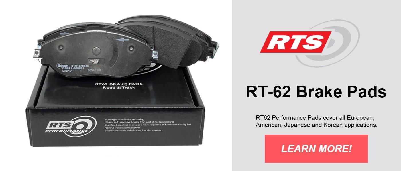 RT-62 Brake Pads