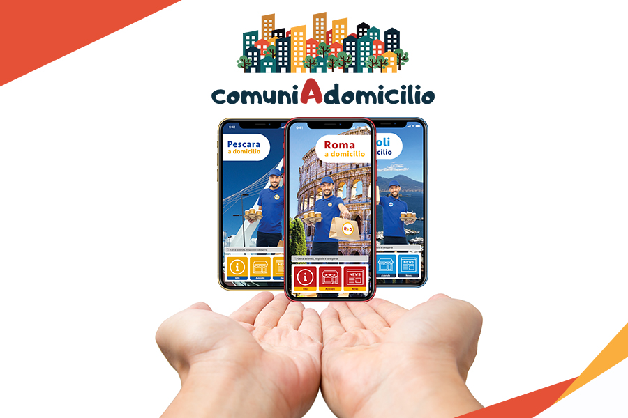 app comuni a domicilio home delivery