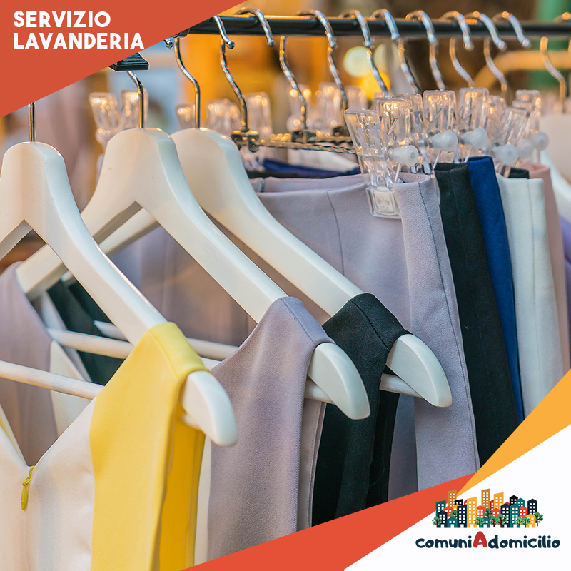 servizio lavanderia a domicilio comuni a domicilio