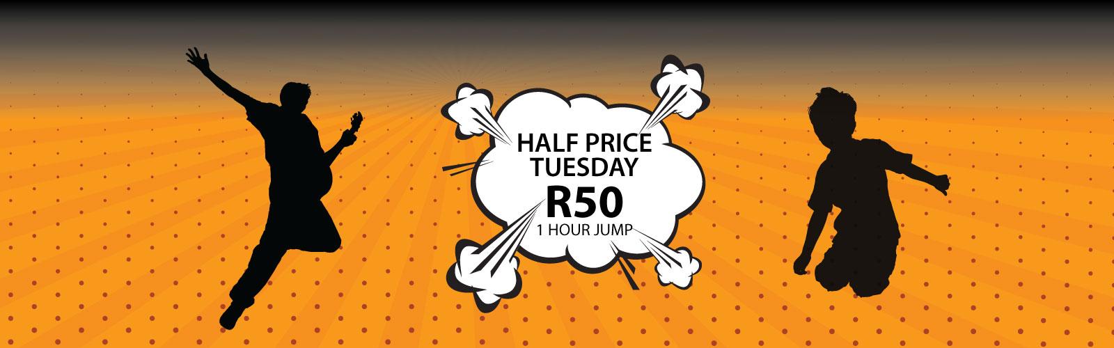 Half Price Tuesday | Trampoline Park | Jump Street