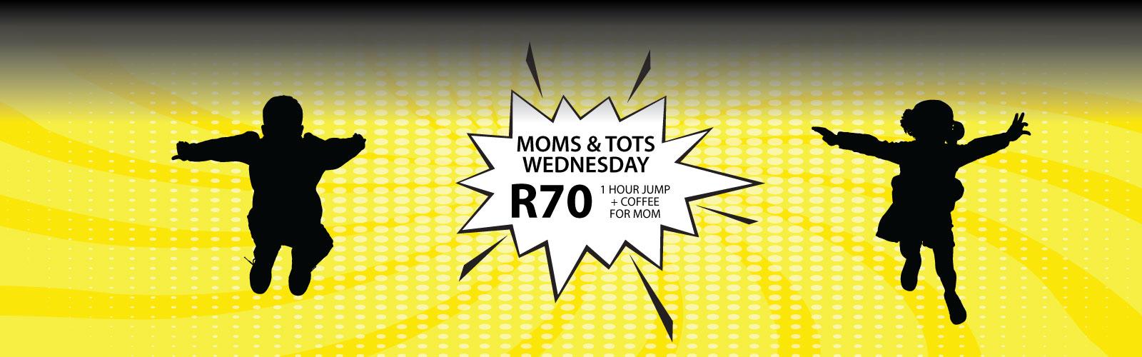 Moms & Tots - Wednesday | Trampoline Park | Jump Street