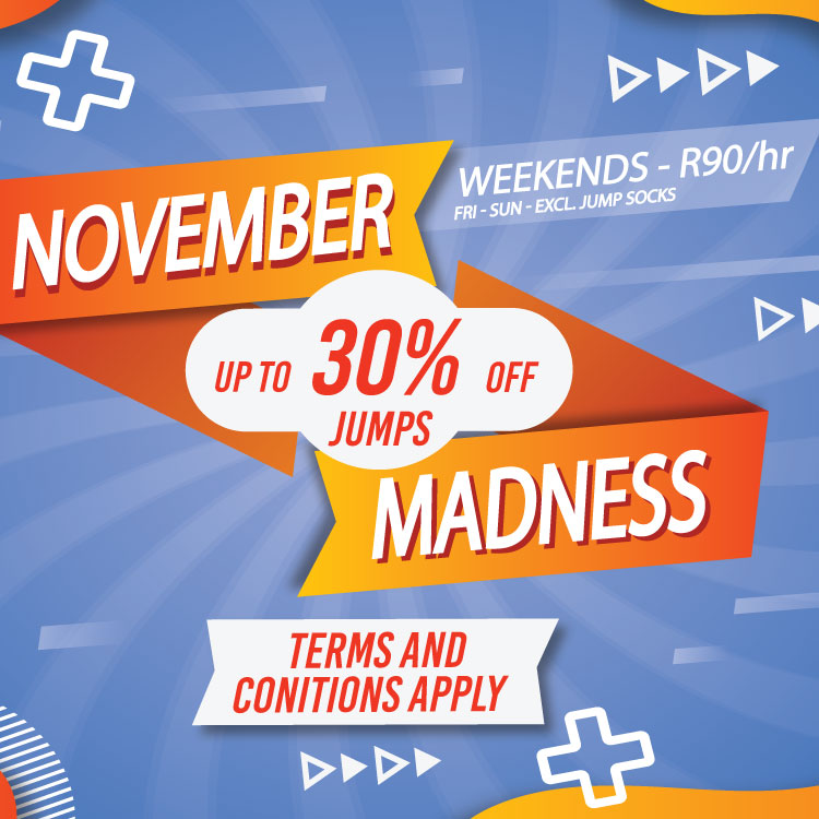 November Madness | Weekends R90