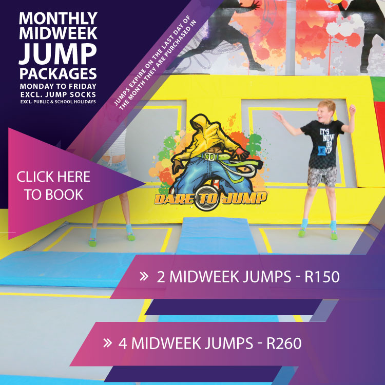 Midweek Jump Packages