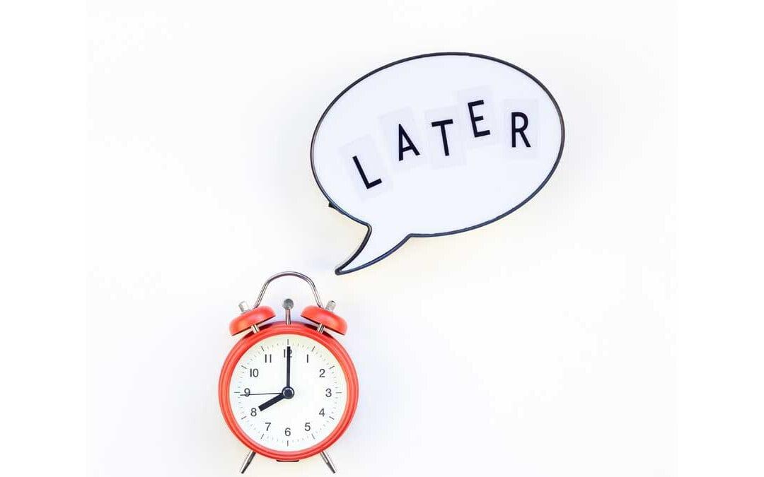 4 Simple Ways to Beat Procrastination