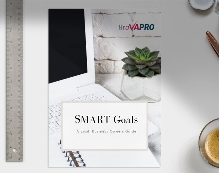 Smart Goals E-Book Graphic | Bravapro