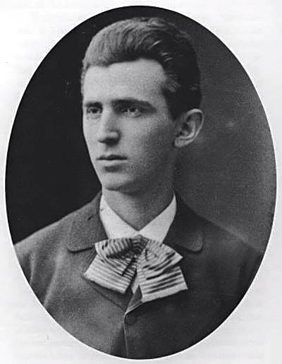 Nikola Tesla aged 23