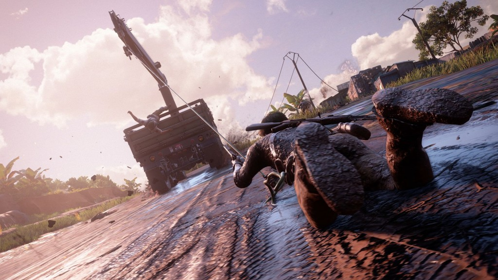 uncharted muddy