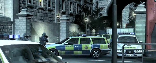 London recreated in Call of Duty: Modern Warfare 3