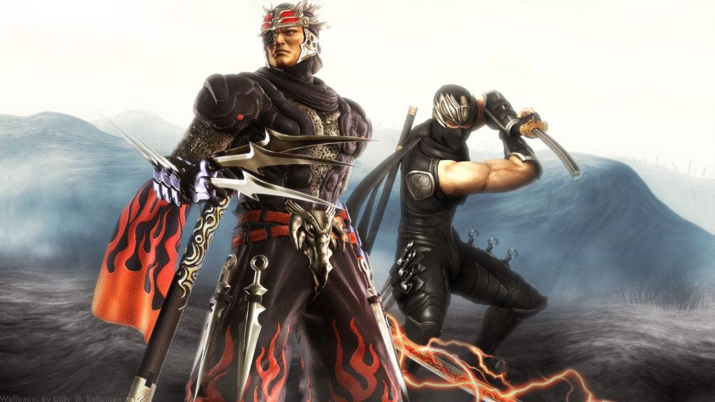 Genshin and Ryu Hayabusa