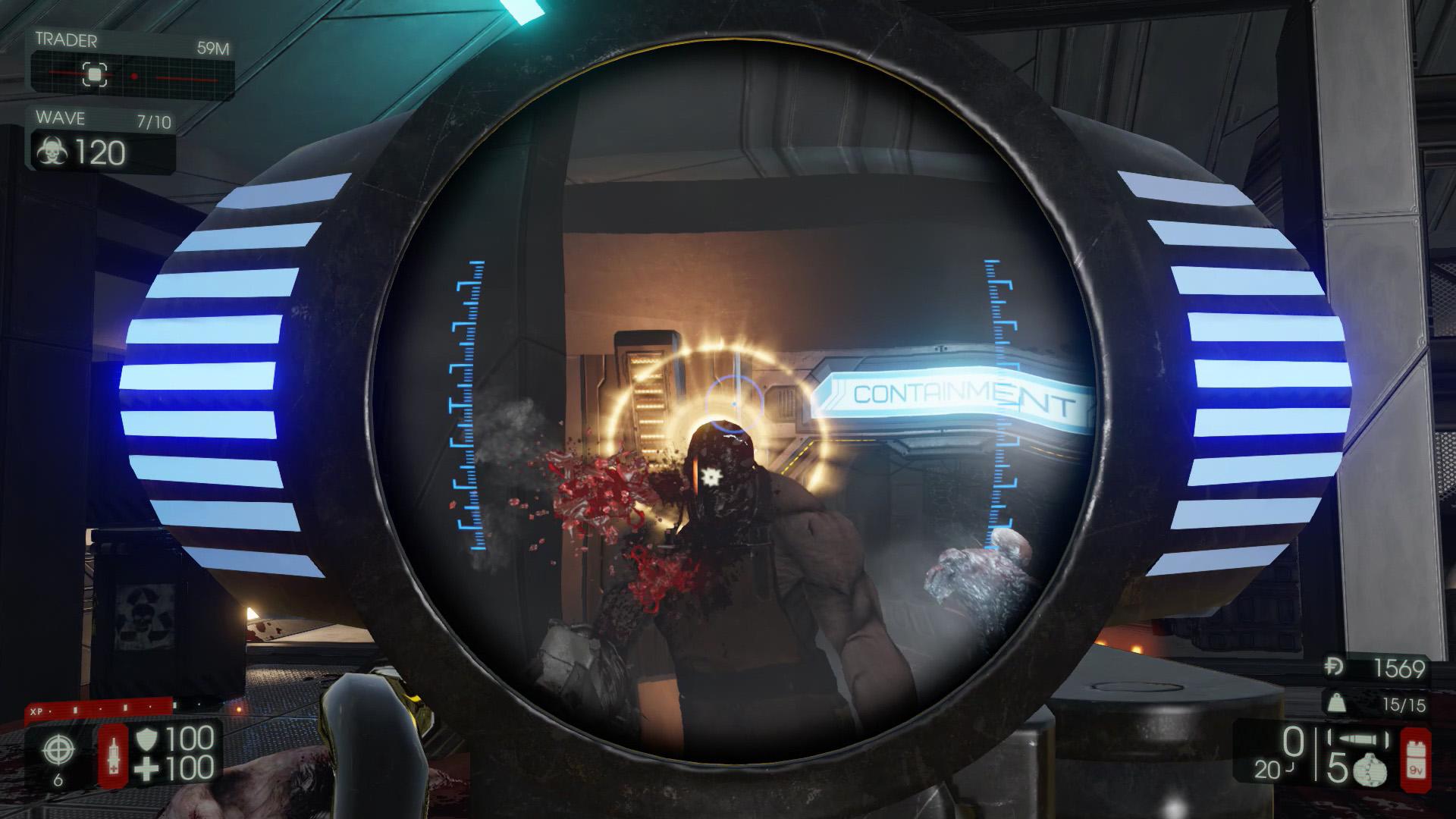 Killing Floor 2 rail gun scrake
