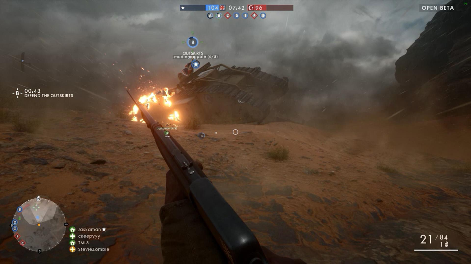 Battlefield 1 beta 02