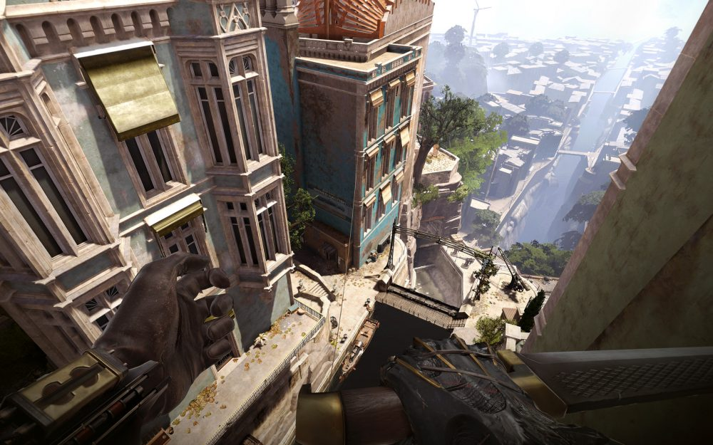 dishonored death of the outsider landscape