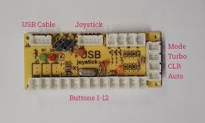 Single 1 Player USB Zero Delay  Encoder