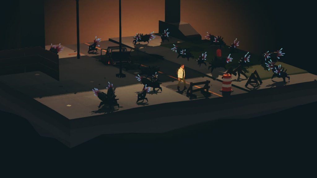 Being overwhelmed by the creatures in Overland