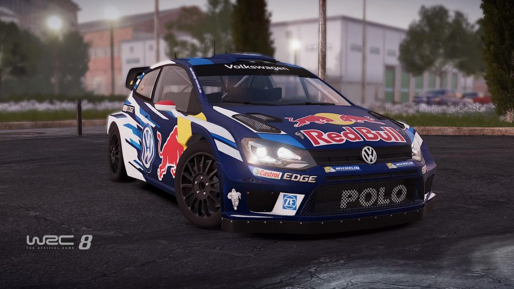 One of the later VW's you unlock in WRC 8