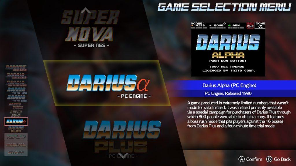Darius Cozmic Collection - Typo