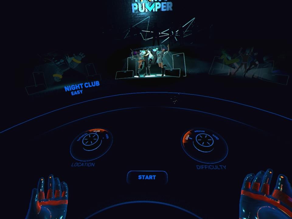 Party Pumper - Screenshot Menu