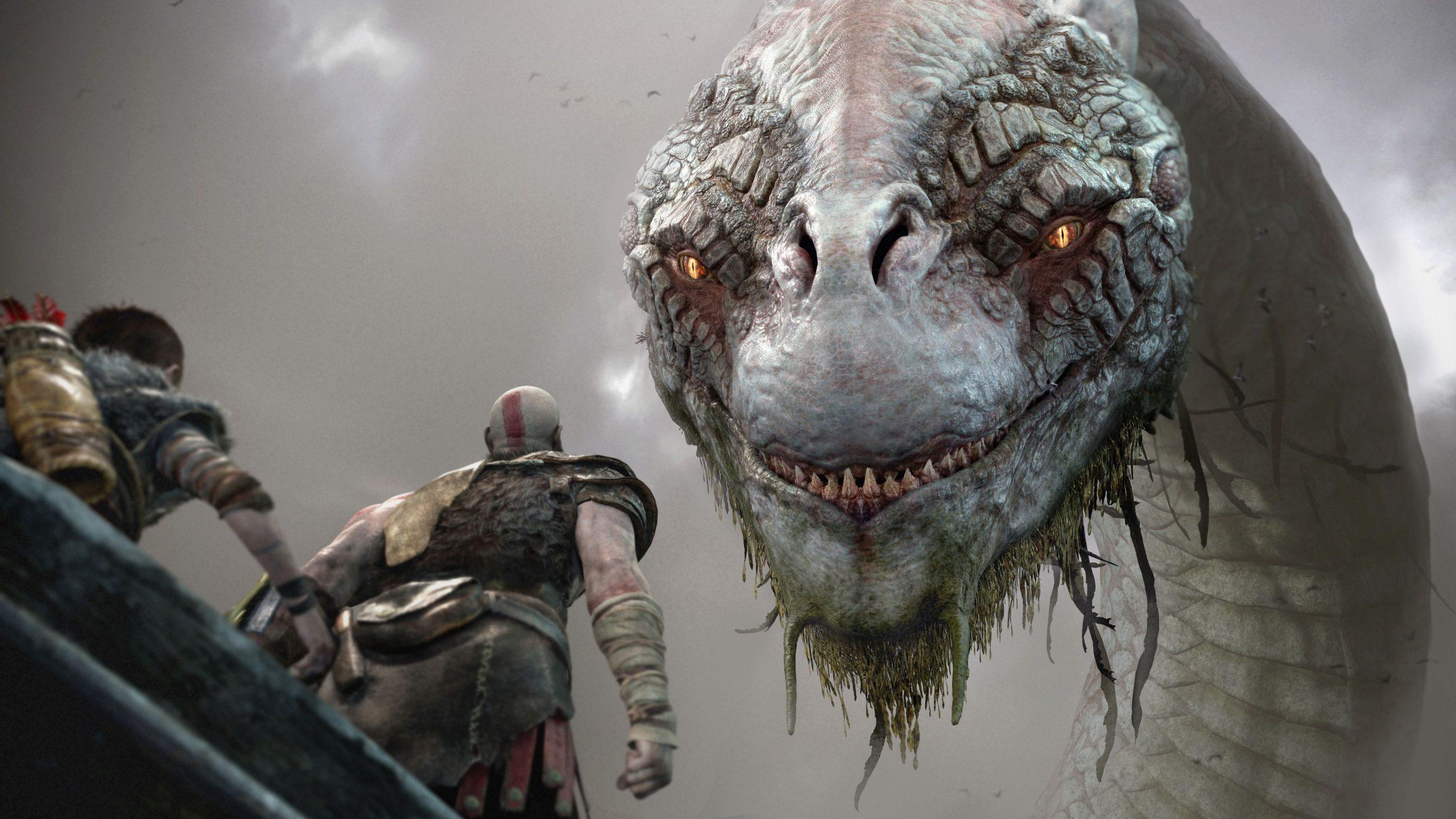 kratos and world serpent