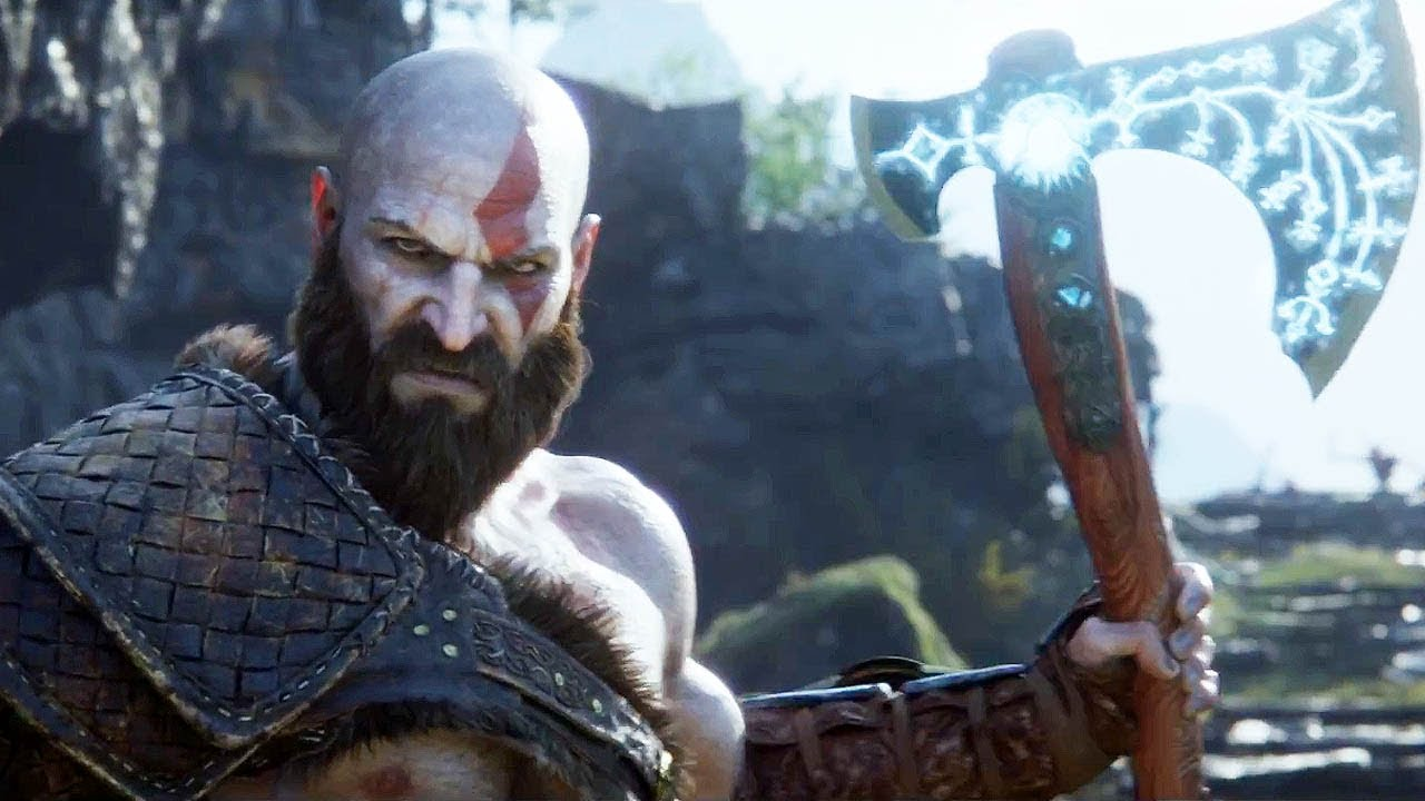 kratos with axe