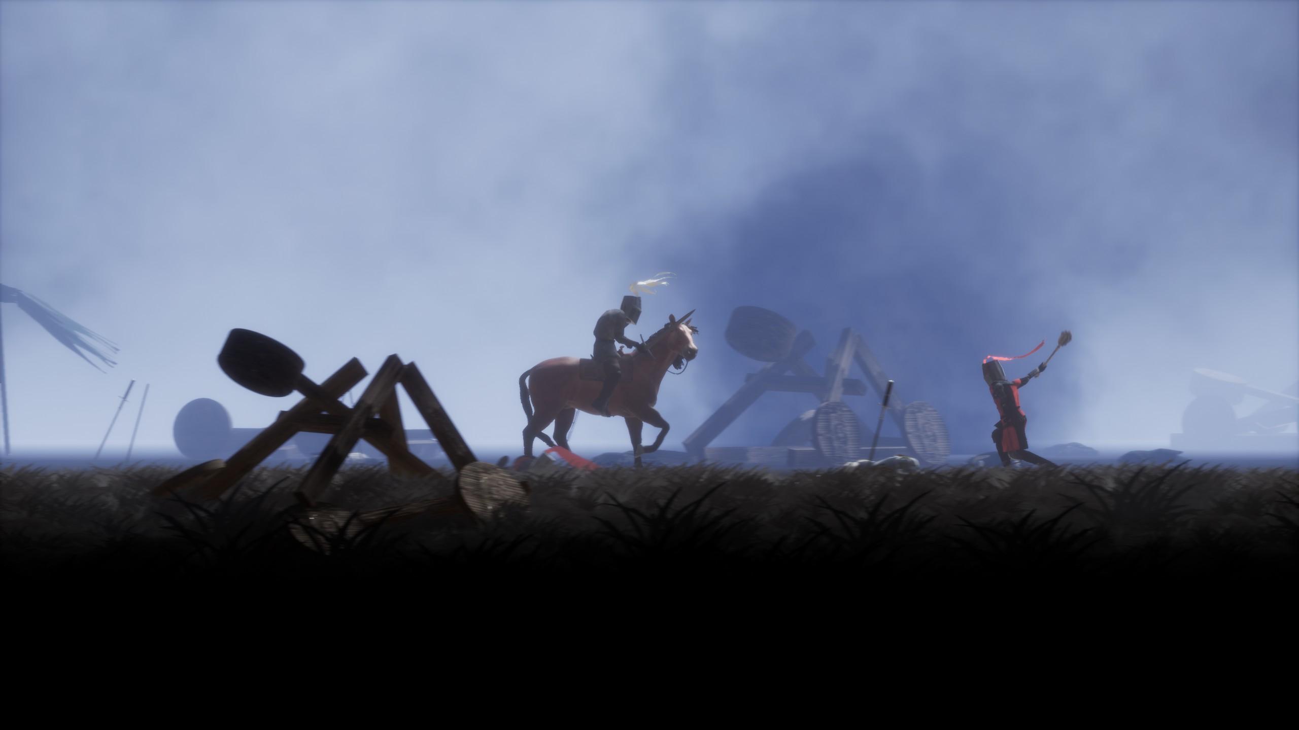griefhelm horse mount