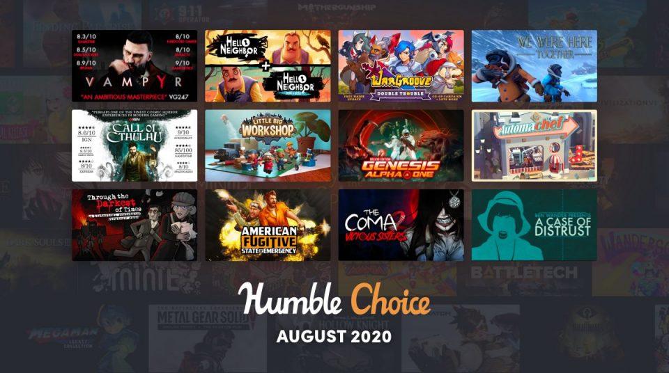 humble choice august 2020