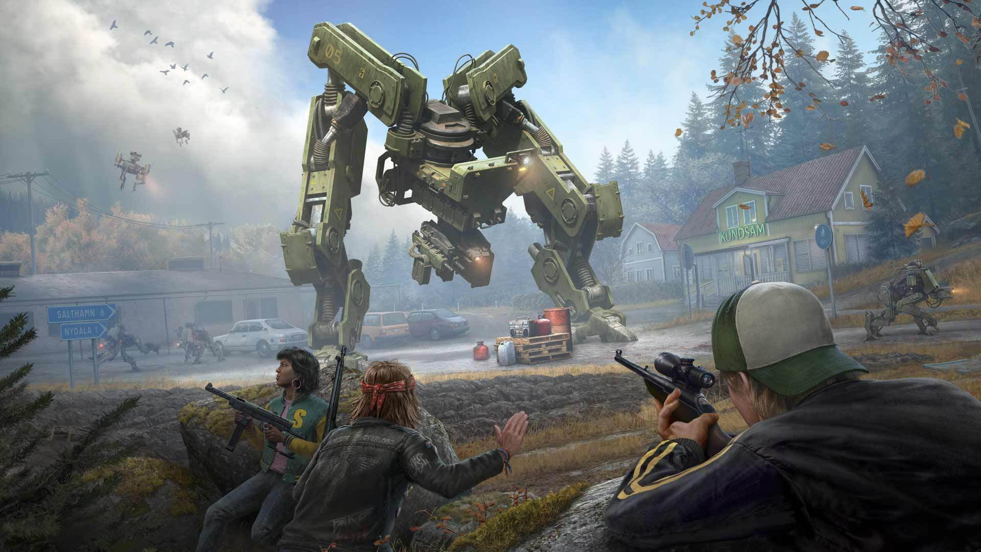 generation zero mech fight