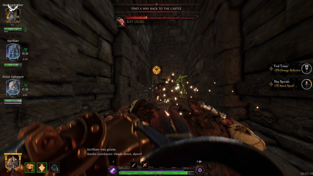 Vermintide 2: Outcast Engineer
