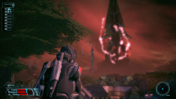 The original Mass Effect's Eden Prime visuals