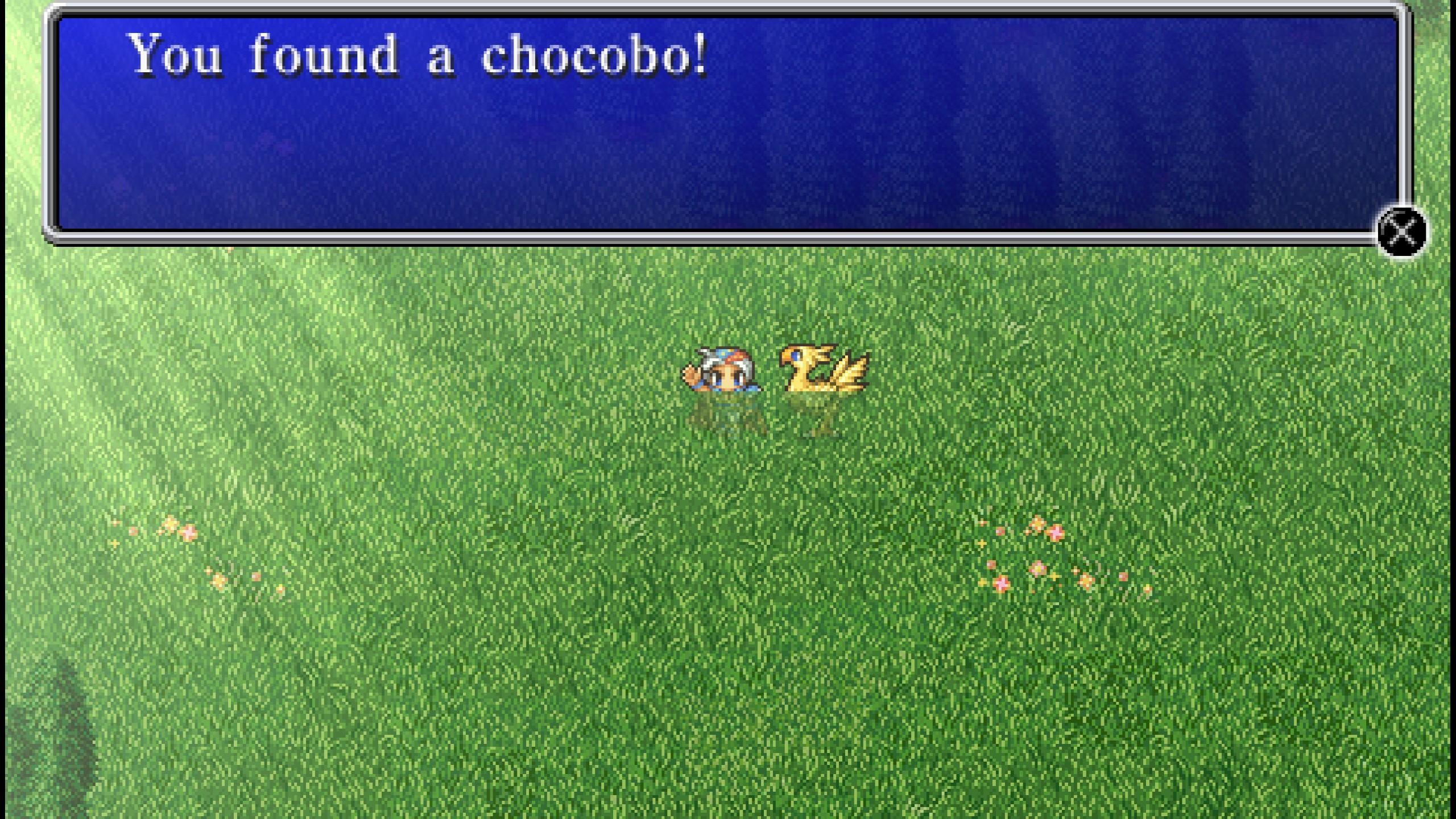 final fantasy ii chocobo