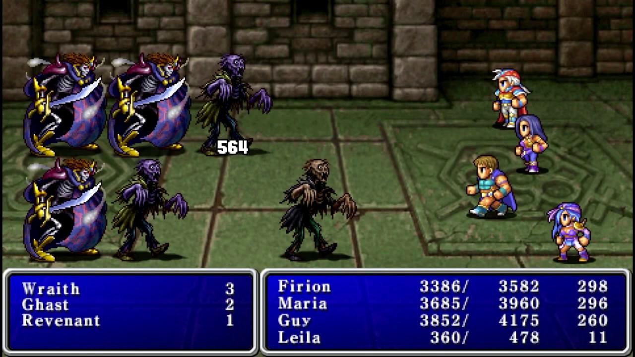 final fantasy ii combat