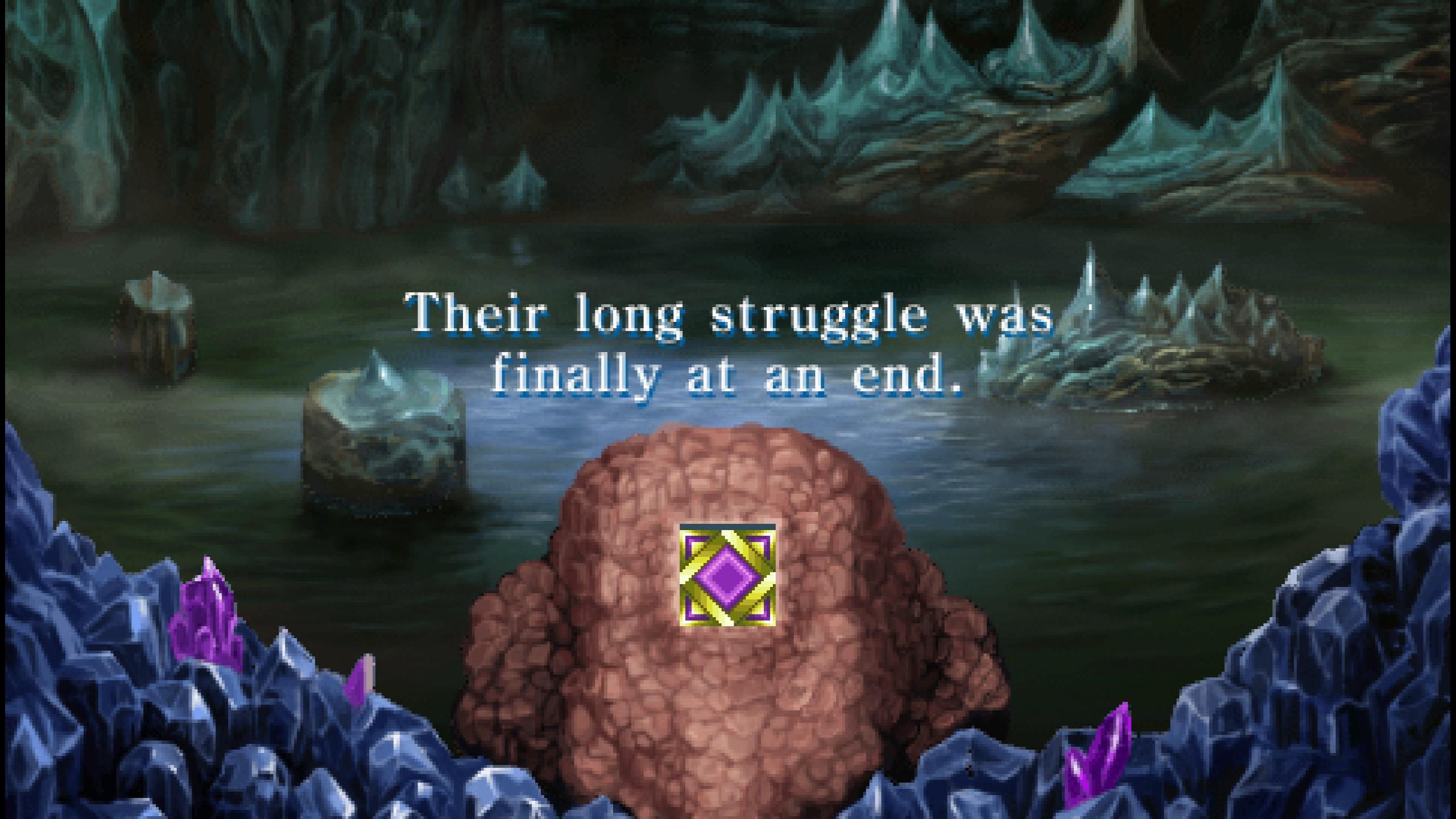 final fantasy ii end