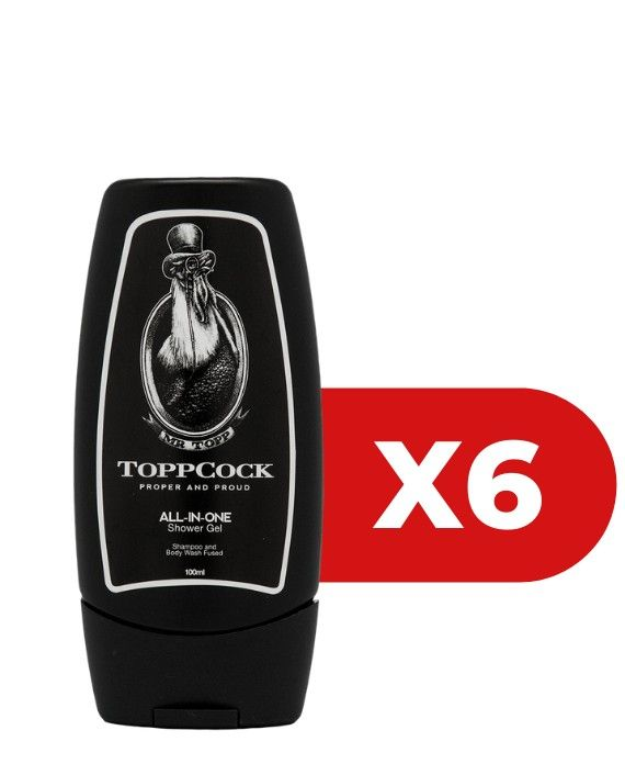 Classic ToppCock All-In-One Shower Gel 6