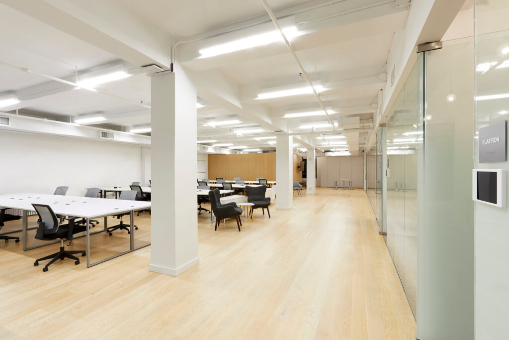 Large open & bright office space