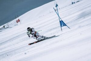 Photo - Caitlin McFarlane - Training Super G - Saas Fee Switzerland