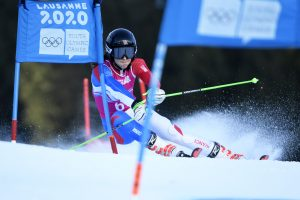 Photo - Caitlin McFarlane - Giant Slalom Lausanne Youth Winter Olympic Games 2020