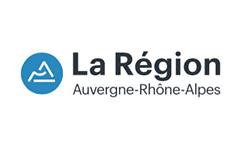 Logo - La Région Auvergne Rhône Alpes