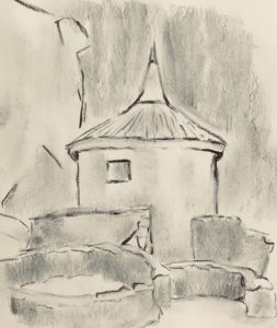 Hill Forts sketch castros drawing art travel