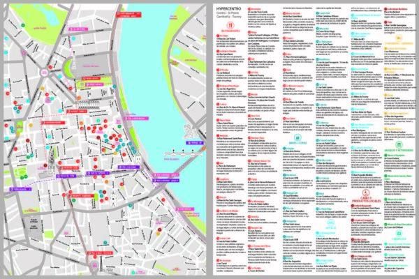Plan de Bordeaux Verso
