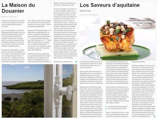 e-magazine Gastronomie