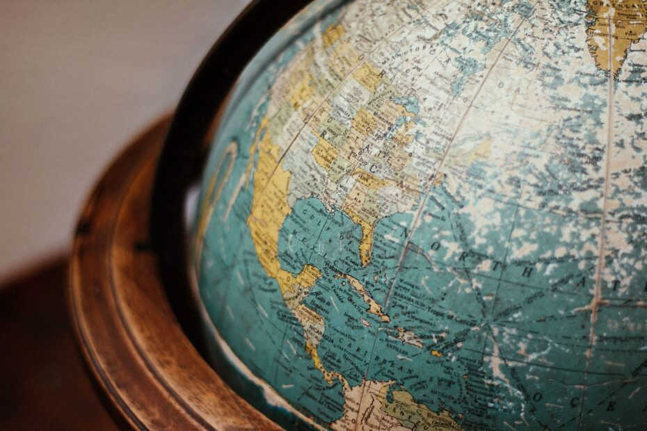 Photo Globe Amerique Latine
