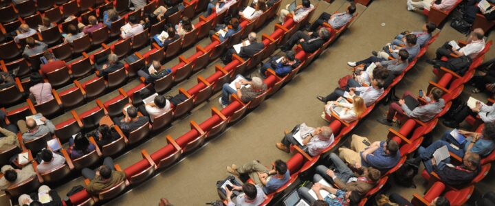 Evolution of professional conferences – part 1