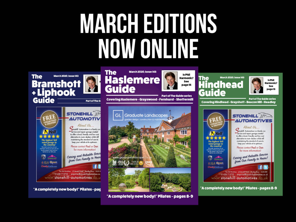 March editions online!